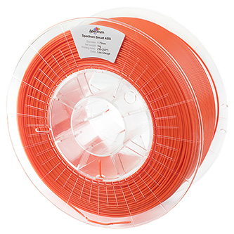 Spectrum 3D filament, Smart ABS, 1,75mm, 1000g, 80091, lion orange