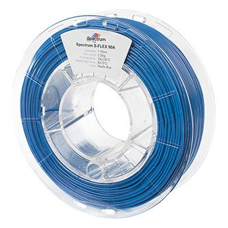 Spectrum 3D filament, S-Flex 90A, 1,75mm, 250g, 80264, pacific blue