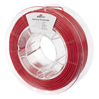 Spectrum 3D filament, S-Flex 90A, 1,75mm, 250g, 80252, bloody red