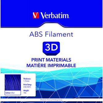Verbatim 3D filament, ABS, 1,75mm, 1000g, 55012, modrá