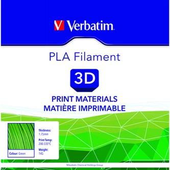 Verbatim 3D filament, PLA, 1,75mm, 1000g, 55271, zelená