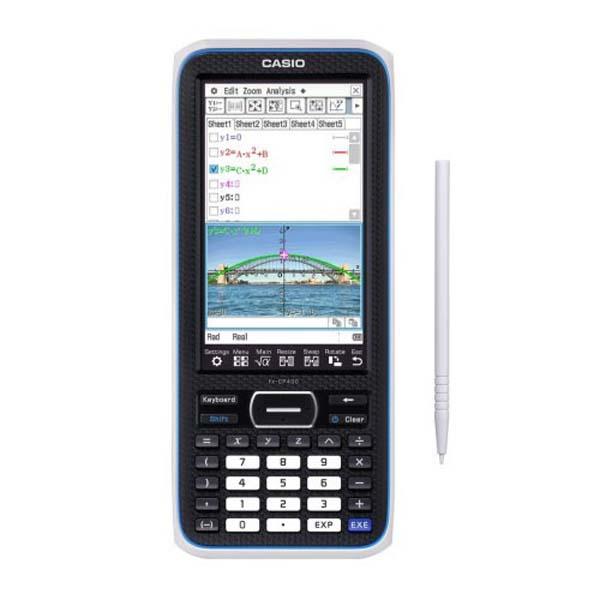 Kalkulačka Casio, FX CP 400 CLASSPAD, černá, grafická s barevným displejem