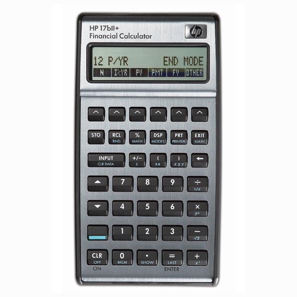 Kalkulačka HP, F2234AA, stříbrná, finanční