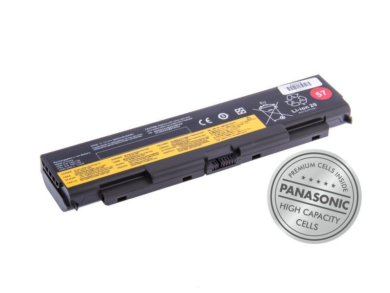 Avacom baterie pro Lenovo ThinkPad T440P, T540P 57+, Li-Ion, 11.1V, 5800mAh, 64Wh, články Panasonic, NOLE-T44P-P29