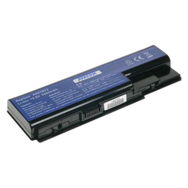 Avacom baterie pro Acer Aspire 5520, 5920, Li-Ion, 14.8V, 5200mAh, 77Wh, články Samsung, NOAC-5520-806