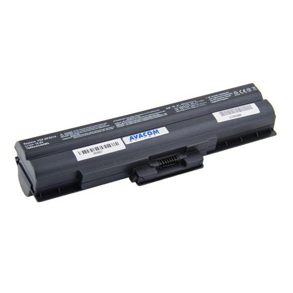 Avacom baterie pro Sony Vaio VPCS series, VGP-BPS21, Li-Ion, 10.8V, 7800mAh, 84Wh, články Samsung, NOSO-21BH-806