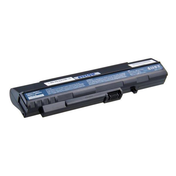 Avacom baterie pro Acer Aspire One A110/150, D150/250, P531, Li-Ion, 11.1V, 5200mAh, 58Wh, černá, články Samsung, NOAC-O11B-806