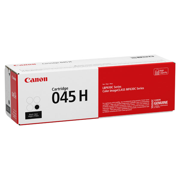 Canon originální toner CRG-045H BK, černá, 2800str., 1246C002, high capacity