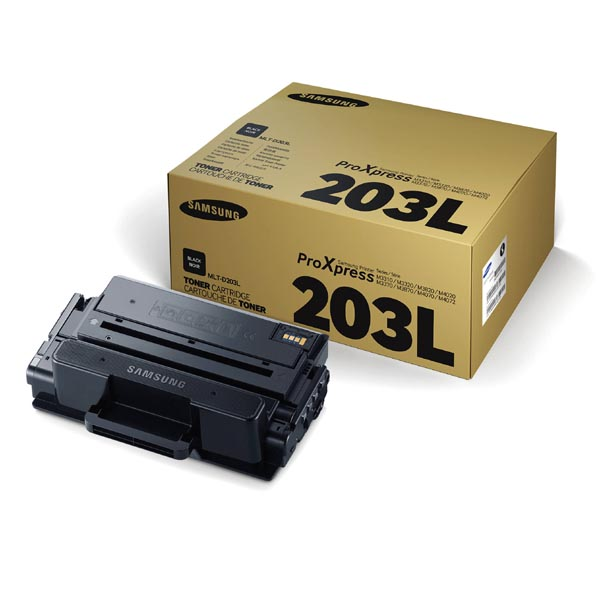 HP originální toner SU897A, MLT-D203L, black, 5000str., 203L, high capacity, Samsung ProXpress M-3320, 3370, 3820, 3870, 4020, 407