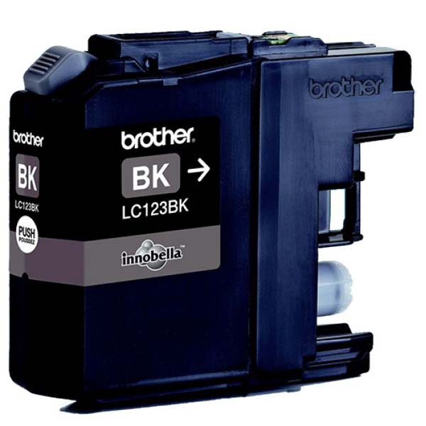 Brother originální ink LC-123BK, black, 600str., Brother MFC-J4510 DW