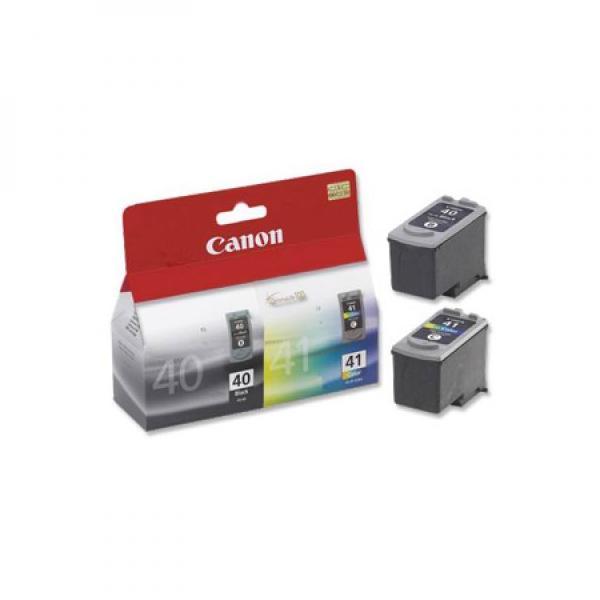 Canon originální ink PG40/CL41 multipack, black/color, 16,9ml, 0615B043, Canon iP1600, 2200, MP150, 170, 450