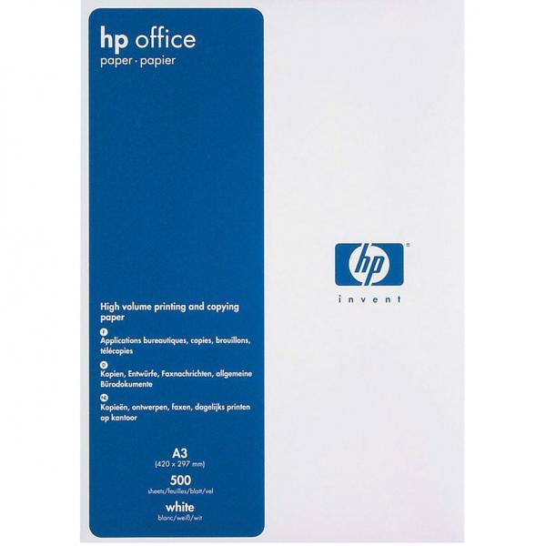 Xerografický papír HP, Office paper A3, 80 g/m2, bílý, CHPOF380, 500 listů