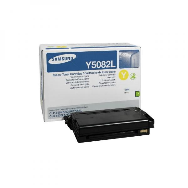 Samsung toner bar CLT-Y5082L pro CLP-620/670 yellow - 4000str.