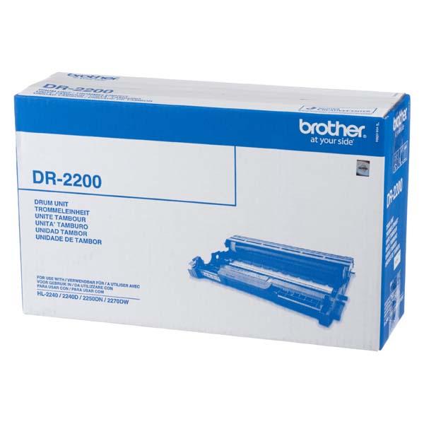 Brother originální válec DR2200, black, 12000str., Brother HL-2240D, 2250DN