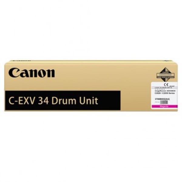 Canon originální válec CEXV34M, magenta, 3788B003, 36000/51000str., Canon iR-C2020, 2030