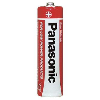 Baterie zinkouhlíková, AA, 1.5V, Panasonic, folie, 4-pack