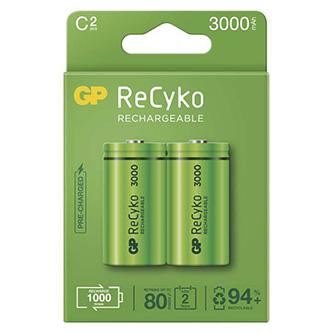 Nabíjecí baterie, C (HR14), 1.2V, 3000 mAh, GP, krabička, 2-pack