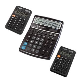 Citizen sada kalkulaček SDC4310, LC110NR, LC310NR, černá, stolní, dvanáctimístná