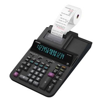 Casio Kalkulačka DR 320 RE, černá, čtrnáctimistná, síťové napájení