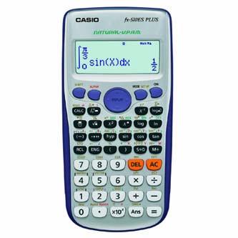Casio Kalkulačka FX 570 ES PLUS, bílá, školní, dvanáctimístná