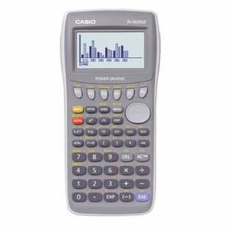 Kalkulačka Casio, FX 7400 Gll, šedá, grafická s 6-ti řádkovým displejem