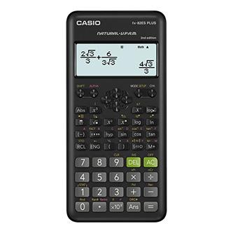 Casio Kalkulačka FX 82 ES PLUS 2E, černá, školní