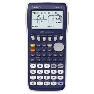 Kalkulačka Casio, FX 9750 GII, modrá, grafická s 8-mi řádkovým displejem