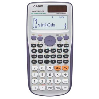 Casio Kalkulačka FX 991ES Plus, bílá, školní, dvanáctimístná