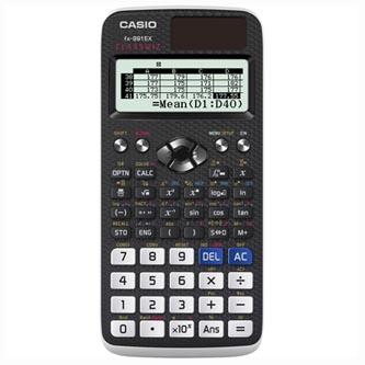 Casio Kalkulačka FX 991 EX, Bílá, školní
