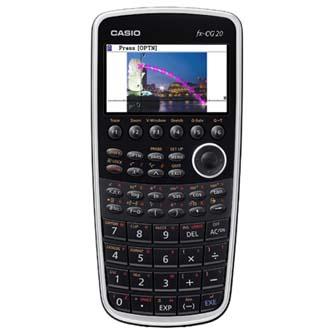 Kalkulačka Casio, FX CG20, černá, grafická s barevným displejem