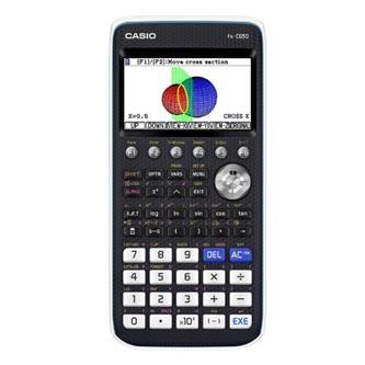Casio Kalkulačka FX CG50, černo-modrá, grafická, barevný display