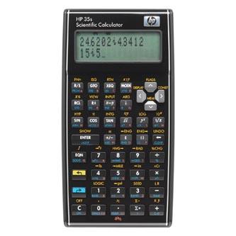HP Kalkulačka F2215AA, černá, vědecká