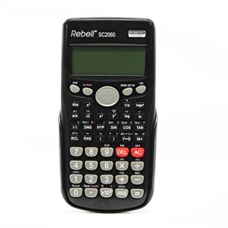 Rebell Kalkulačka RE-SC2060 BX, černá, vědecká, bodový displej