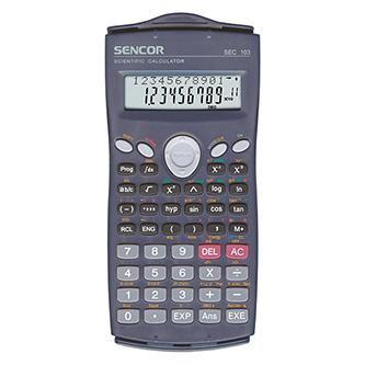 Sencor Kalkulačka SEC 103, černá, školní, desetimístná