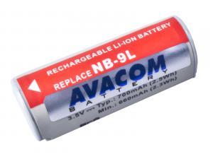 Avacom baterie pro Canon NB-9L, Li-Ion, 3.7V, 700mAh, 2.5Wh, DICA-NB9L-140