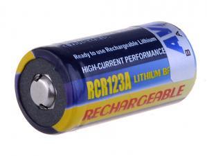 Nabíjecí baterie Li-Fe, CR123, 3V, Avacom, 1-pack, DICR-R123-152, 500mAh 1.5Wh