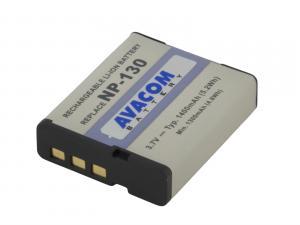 Avacom baterie do fotoaparátu pro Casio Exilim EX-ZR2000, TRYX, ZR1500, Li-Ion, 3.7V, 1400mAh, 5.18Wh, DICS-N130-533N2, NP-130