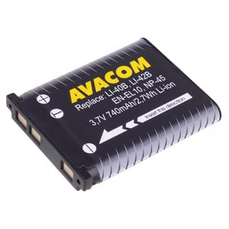 Avacom baterie pro Olympus Li-Ion, 3.7V, 740mAh, 2.7Wh