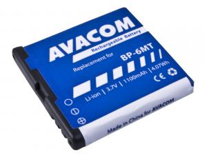 Avacom baterie do mobilu Nokia, Nokia E51, N81, N81 8GB, N82, Li-Ion, 3.6V, GSNO-BP6MT-S1100A, 1100mAh, 4Wh