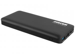 Avacom, power bank, PRISMA GT-20, nabíjení mobilních telefonů aj., 20000mAh, černý