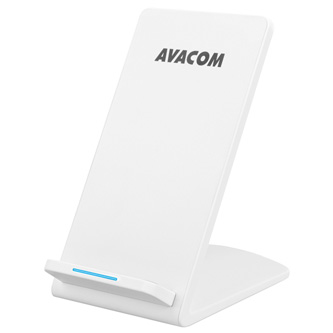 Avacom, bezdrátová nabíječka, HomeRay S10, bílá, nabíjení mobilních telefonů