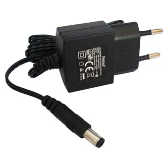 Síťový adaptér, AD PDC EU, 220V (el.síť), 6V, 300mA, napájení kalkulaček, Rebell