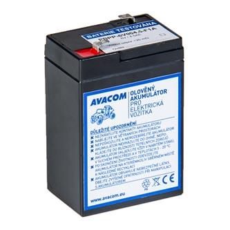 Avacom olověný akumulátor F1 pro Peg Pérego