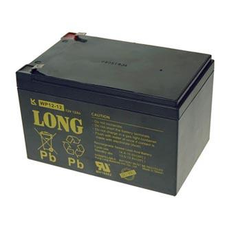 Long olověný akumulátor F2 pro UPS, EZS, EPS, 12V, 12Ah, PBLO-12V012-F2A