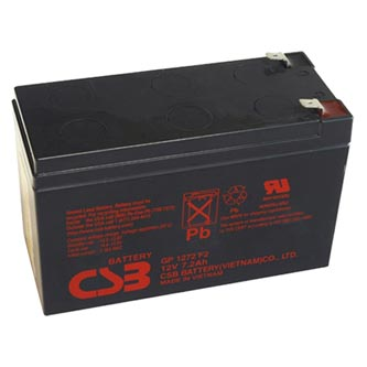 Long olověný akumulátor F2 pro UPS, EZS, EPS, 12V, 7.2Ah, PBCS-12V007,2-F2A, GP1272F2
