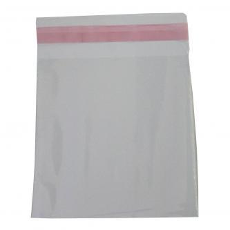 Obálka na 1 ks CD, polypropylen, průhledná, s lepicí klopou, 17*12.8cm/13*12.8cm, 100-pack, cena za 1 ks