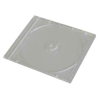 Box na 1 ks CD, průhledný, tenký, 5,2mm
