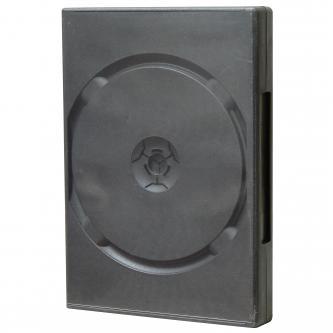 Box na 6 ks DVD, černý, 24mm