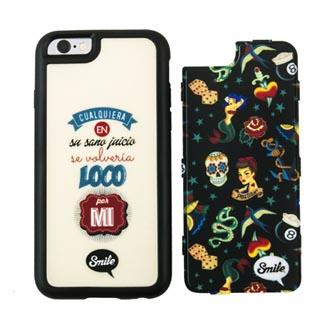 Kryty na iPhone 5/5S/5SE, barevné, TPU, PC, Dress Me Pin Up, 2v1, Smile