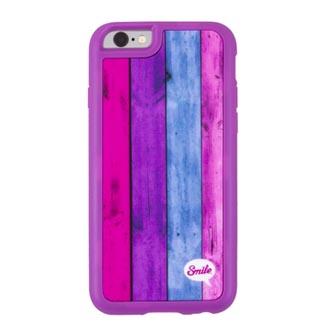 Kryt na iPhone 5/5S/5SE, růžový, TPU, Wood Spirit Sweet, Smile